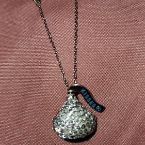 Jewelry - SS NECKLACE W/HERSHEY KISS CHARM